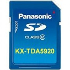 Panasonic KX-TDA5920 SD Memory Card for Software Upgrade to Enhanced Version